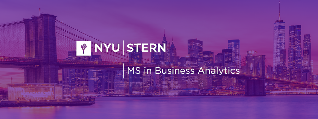 nyu stern master of science in business analytics